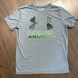 Under Armour Gray T-shirt with front logo